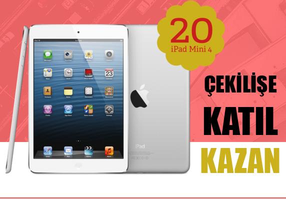 MAPFRE 20 iPad Mini 4 çekilişine katılın