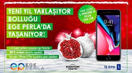 31 Kişiye iPhone 8 Plus 256 GB çekiliş kampanyası