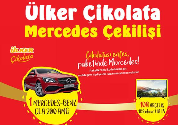 Ülker Mercedes çekilişi