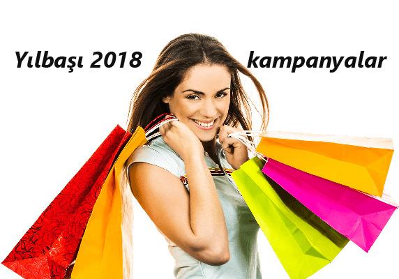 2018 yılbaşı indirim kampanyaları başladı! İşte markalar!