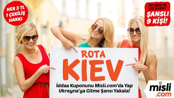 Misli.com Ukrayna Tatili Çekilişi
