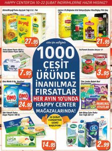 Happy Center aktüel ürün kataloğu