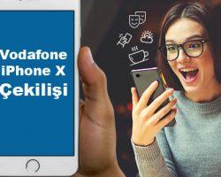 Vodafone'den Honda ve iPhone çekilişi