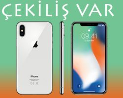 Apple iPhone X Çekilişi 2018