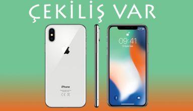 Apple iPhone X Çekilişi 2018