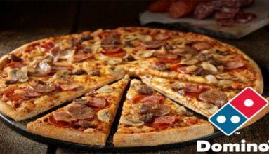 Dominos Pizza akaryakıt hediye kampanyası