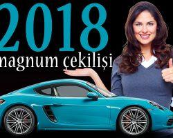 Magnum Porsche Çekilişi 2018