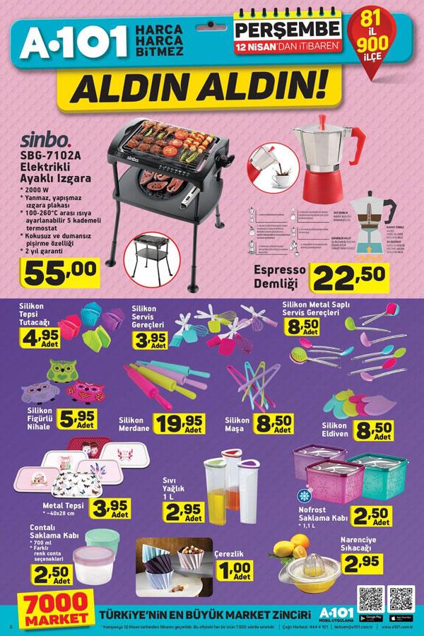 12 Nisan perşembe 19 Nisan 2018 kampanyalı ürünler