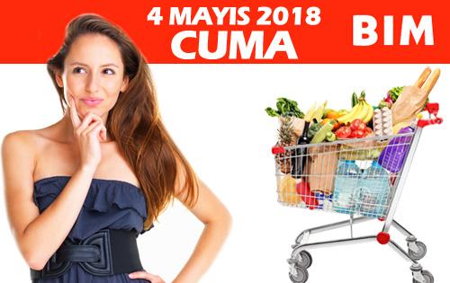 BİM 4 Mayıs 2018 Cuma indirimleri