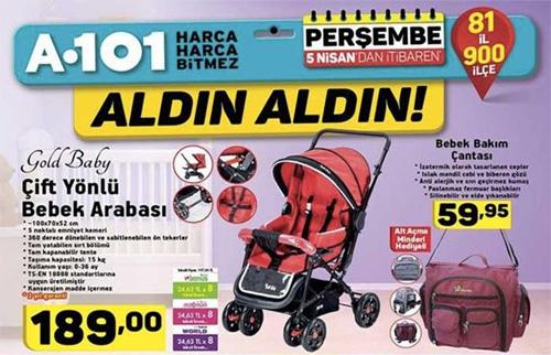 A101 5 Nisan 2018 bebek arabası yorumları