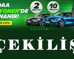 Bilyoner BMW Çekiliş Kampanyası 2018