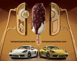 Magnum dondurma Porsche çekilişi