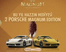 Magnum Türkiye Porsche Otomobil çekilişi 2018