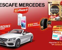 Nescafe GOLD Mercedes çekilişine katılın