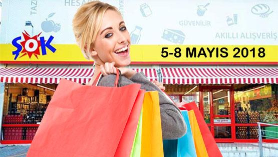 Şok Market 5-8 Mayıs 2018 Aktüel Ürünler