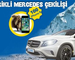 Erikli Mercedes ve iPhone 8 Çekilişi 2018