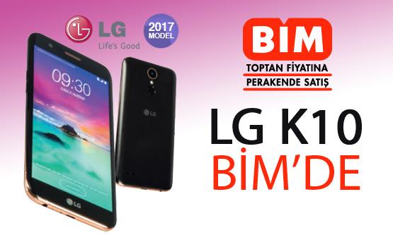 LG K10 BİM indirim kampanyası