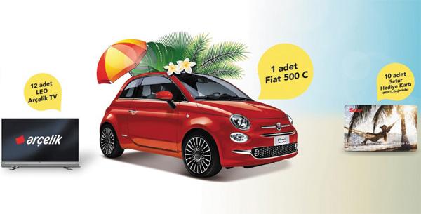 Setur Fiat 500 Çekiliş Kampanyası
