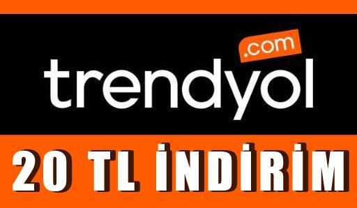 Trendyol'dan 20 TL indirim kampanyası