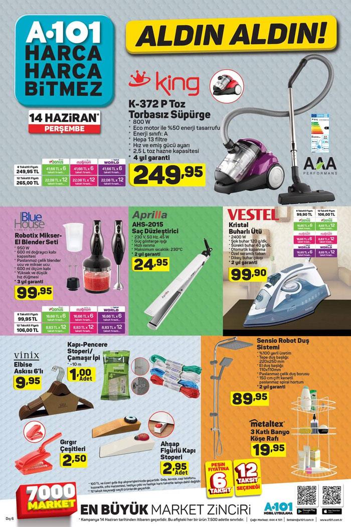 kampanyalı ürünler a101 katalog