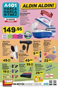 A101 aktüel ürünler 31 Mayıs 2018