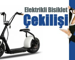 Korupark AVM Elektrikli Bisiklet Çekilişi