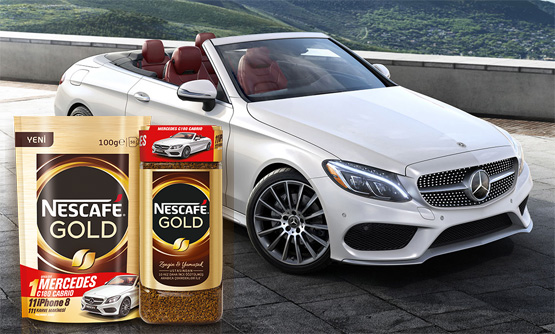 Nescafe Gold Çekilişi