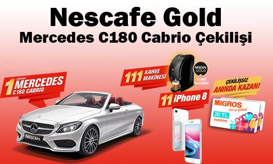 Nescafe Gold Mercedes C180 Cabrio Çekilişi