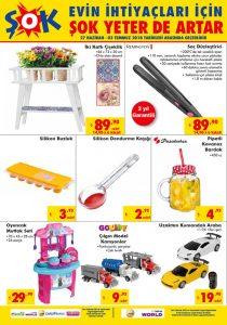 Şok market 27 haziran aktüel ürünler