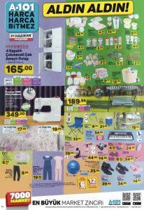 A101 21 Haziran 2018 aktüel ürünler kataloğu