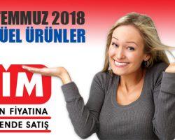 13 Temmuz 2018 Cuma Bim Aktüel indirimi