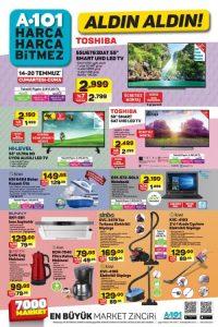 A101 Aktüel ürünler 14-20 Temmuz indirim kampanyası