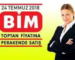 Bim aktüel ürünler 24 Temmuz 2018