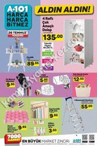 26 Temmuz - 2 Ağustos A101 aktüel ürünler