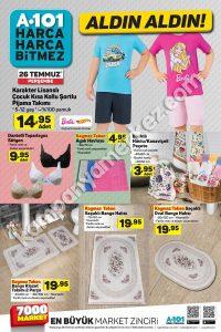 26 Temmuz - 2 Ağustos A101 aktüel katalog kampanya