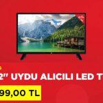 A101 uydu alıcılı LED Tv kampanyası 2018