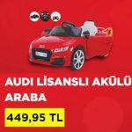 Audi akülü oyuncak araba A101 kampanya