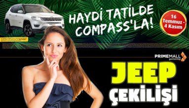 Primemall Jeep Compass Çekilişi Başlıyor