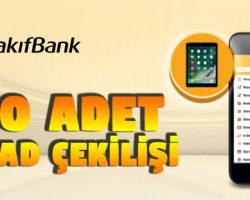 Vakıfbank'tan 2018 iPad Çekiliş Kampanyası