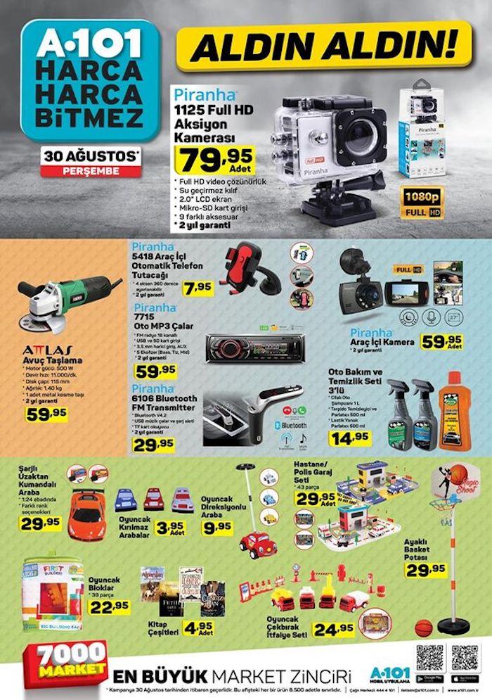 A101 6 Eylül 2018 fırsat ürünleri