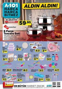 A101 6 Eylül 2018 kampanyalı ürün katalogları
