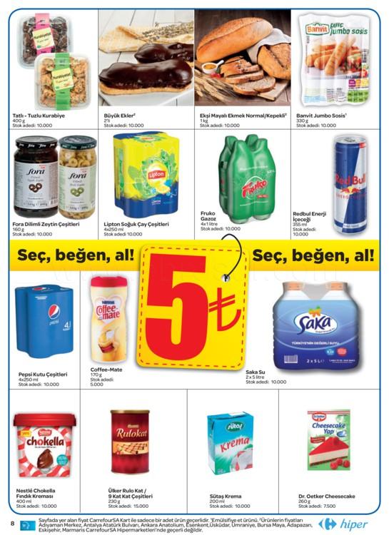 CarrefourSA indirim kataloğu Ağustos Eylül kampanyası