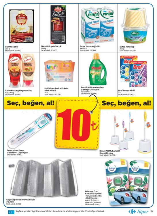 CarrefourSA indirim kataloğu Ağustos broşür