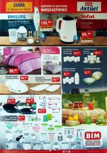 Bim 31 Ağustos indirimli ürün katalogları