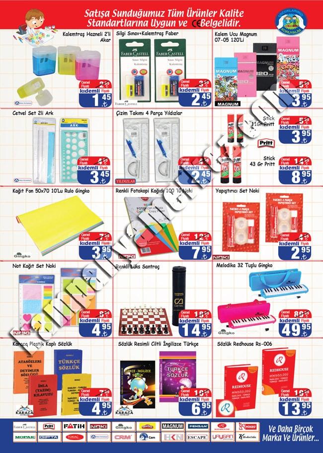 Hakmar okul malzemeleri 1-31 Eylül kataloglar