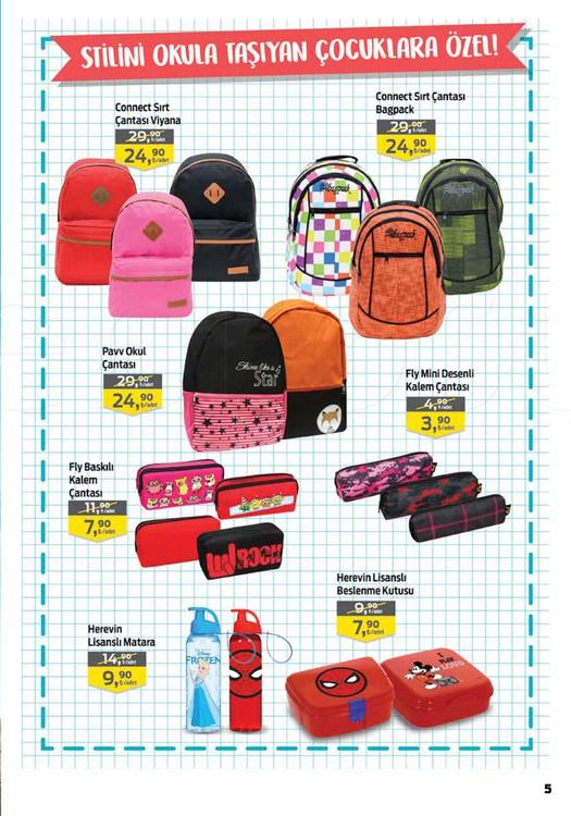 Migros okul kampanyaları kataloglar