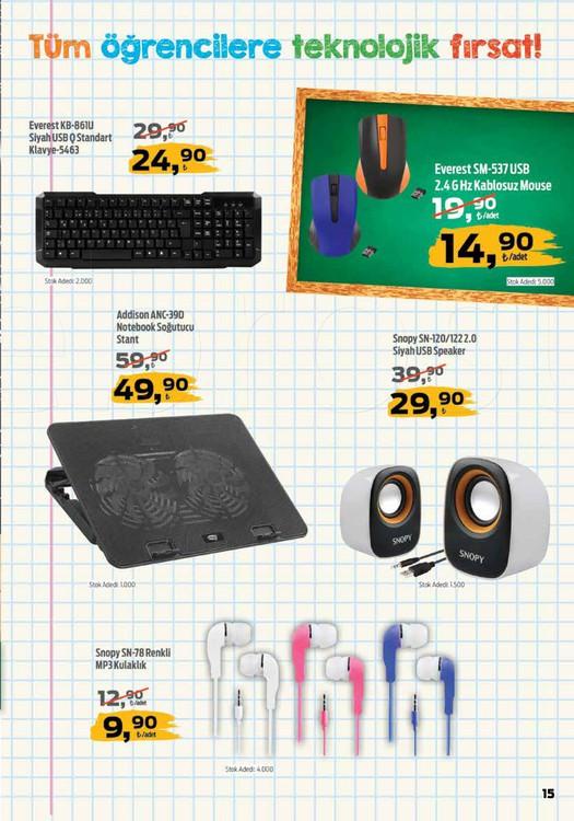 Migros okul malzemeleri 2018 bilgisayar ürünleri