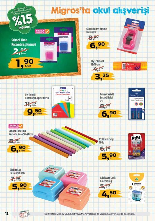 Migros okul malzemeleri 2018 kırtasiye