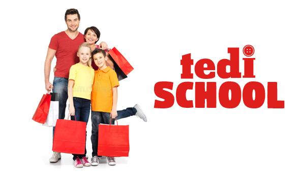 Tedi aktüel ürünlerde okul kampanyası 5-12 Eylül 2018