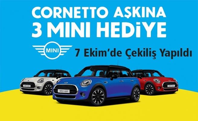 Cornetto 2019 Mini Cooper Çekilişi Sonuçları